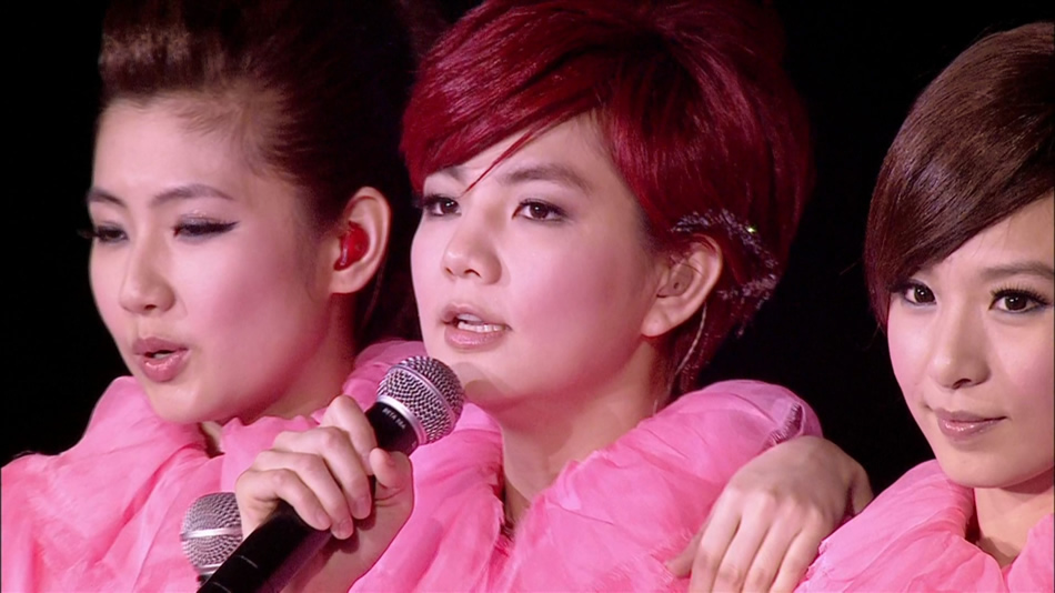 S.H.E.爱而为一 Is The One.2010演唱会台北旗舰场.田馥甄.39G.1080P蓝光原盘